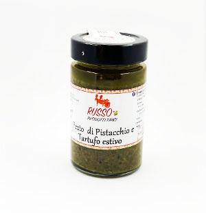 Pesto di Pistacchio e Tartufo Estivo